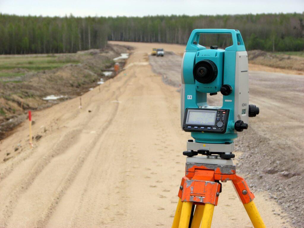Геодезическое сопровождение строительства автодорог