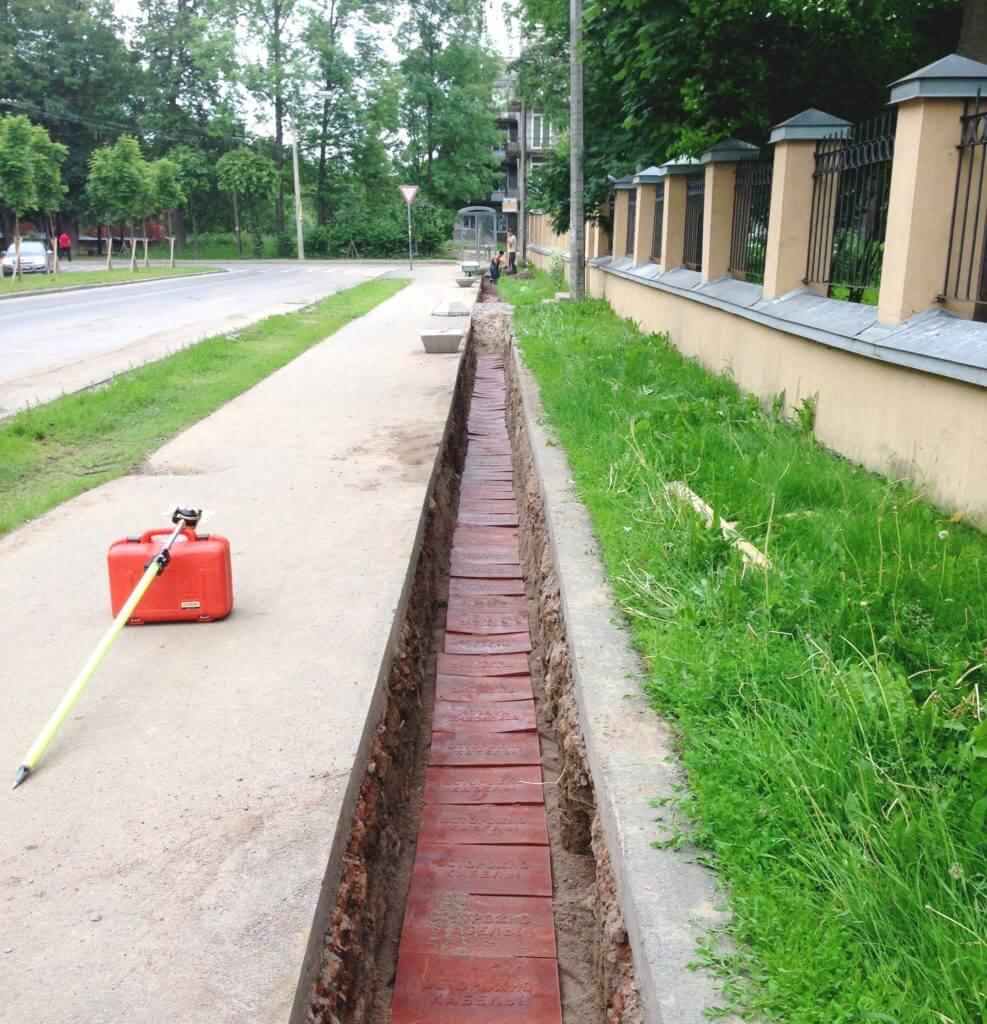 Подземные коммуникации сети электроснабжения
